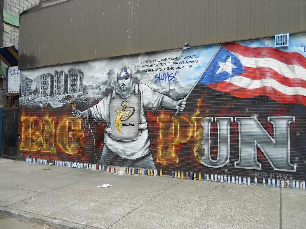 Big Pun Mural