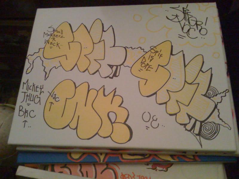 GRAFFITI:  CINIK · SPIF VAC