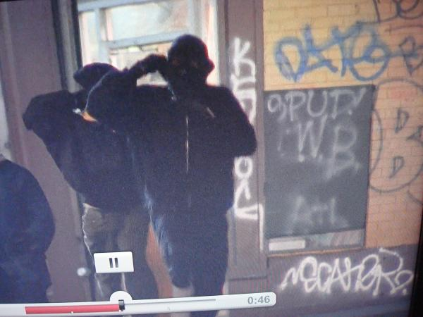 "GRAFFITI:  DATE (SCREENSHOT FROM MOVIE ""JUICE"")"