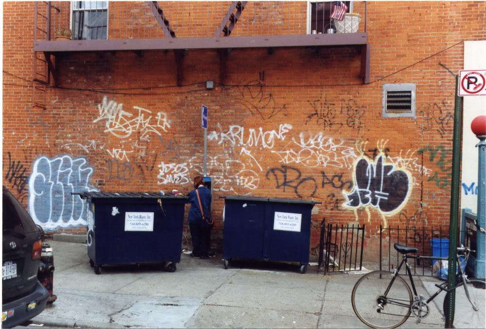 GRAFFITI:  DRO ACC · NETA ACC · RIBS GAK · ASK GLK · FATE KDS TDF · DECK