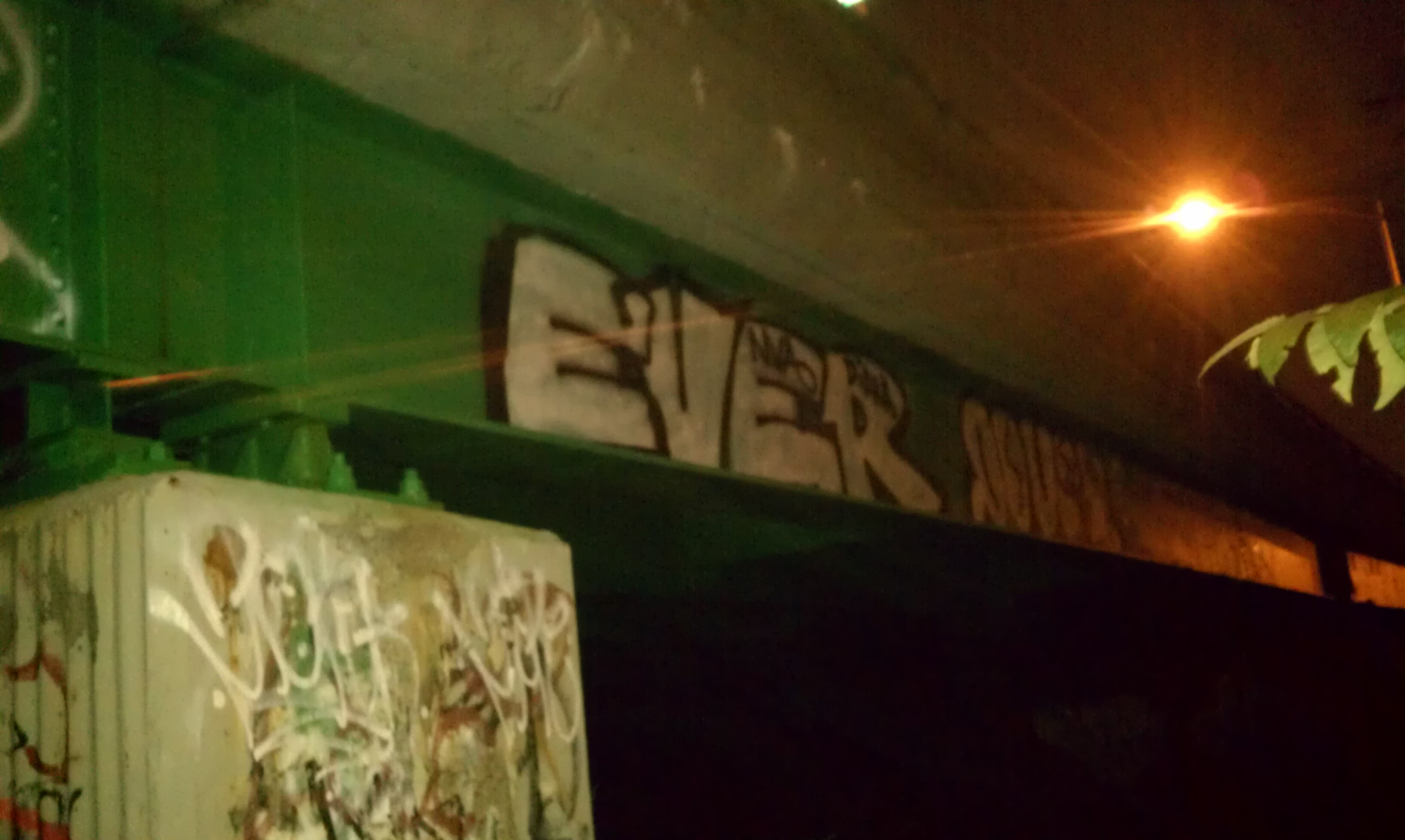 GRAFFITI:  EVER · DOVER