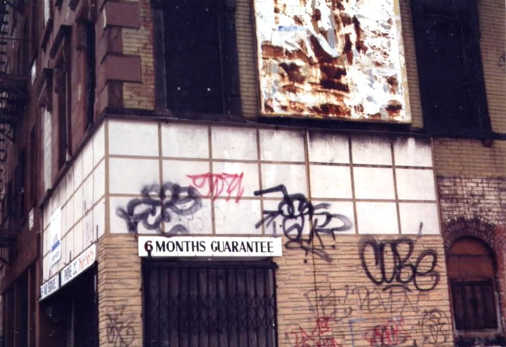 GRAFFITI:  MS ACC · ASK GLK · COBE · FEC · DEVEN