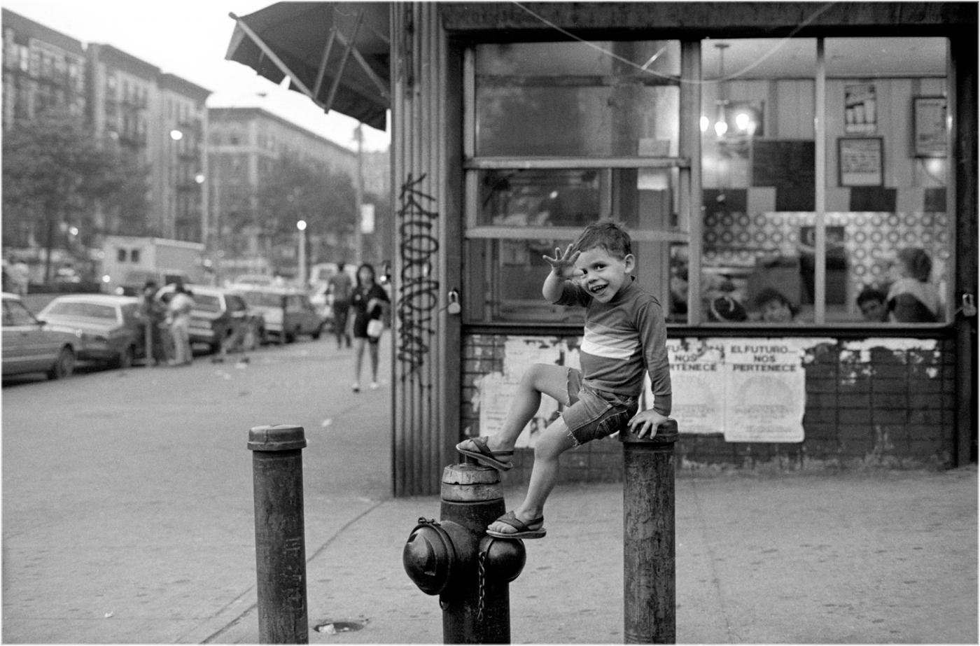 """""""Happy Kid"""" Harlem 1988 by Matt Weber"""