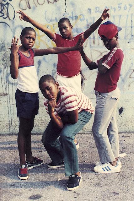 Photo:  B-Boy Stance - 1980s