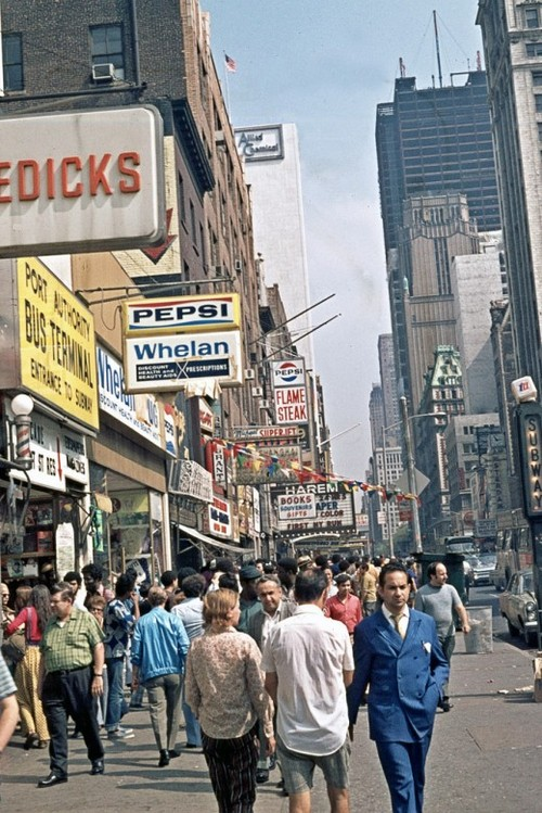 Photo:  New York City - Vintage Street Scene (1970s or Early 1980s)