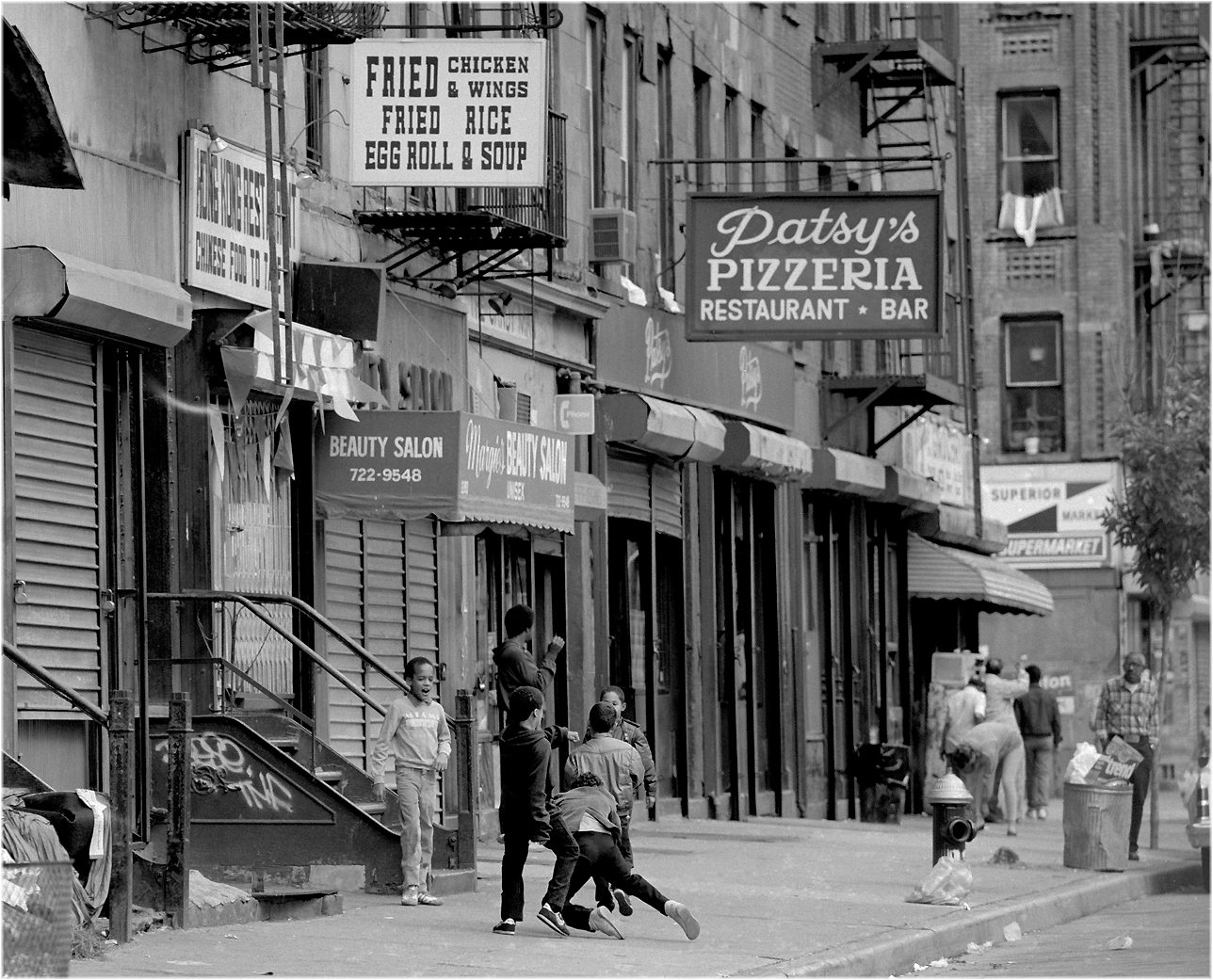 """Minor Mayhem"" Spanish Harlem 1986 by Matt Weber"