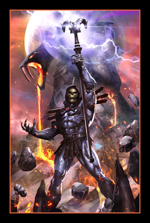 Skeletor Variant by Dave Wilkins