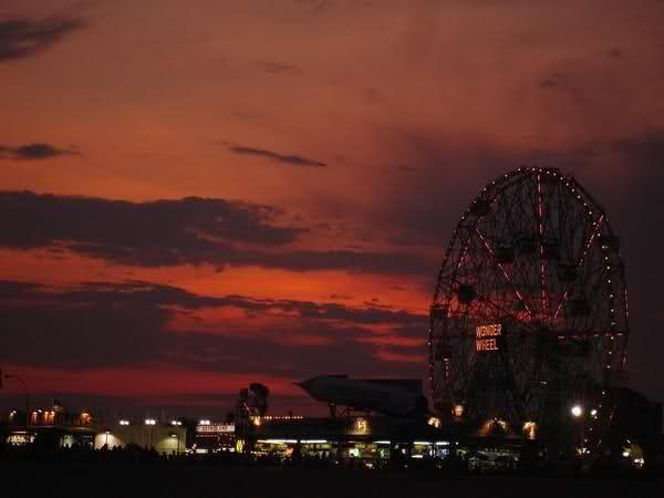 Image:  Wonder Wheel at Coney Island